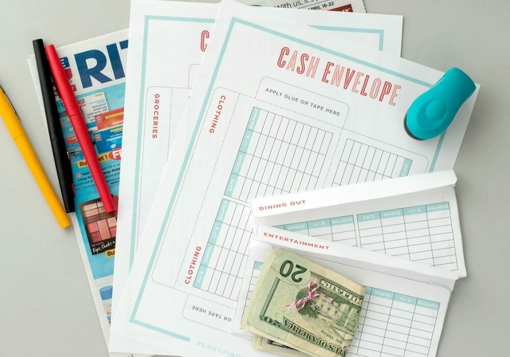 cash envelope budget system